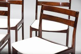 rosewood dining room chairs descargas mundiales com danish rosewood dining chairs by henry rosengren hansen for brande