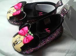 minnie mouse disney baby shoes black debrasplace artfire