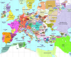 European Countries Map European History Maps