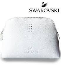 makeup bag swarovski white cosmetic makeup bag finga nails