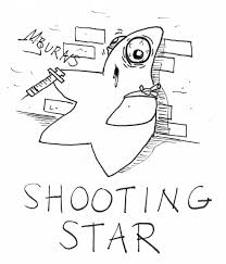 comic strip mike burns jersey shore shooting star short