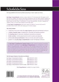 ks2 comprehension teacher u0027s guide years 3 6 ages 7 11 for the