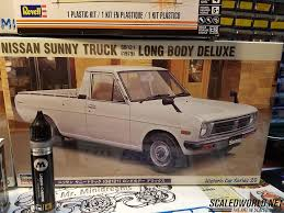 nissan sunny pickup minidreams c1 model hakotora pickup scaledworld