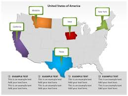 population in united states of america powerpoint templates and