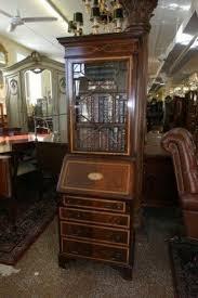 Secretary Desk Bookcase Narrow Secretary Desk Foter
