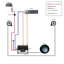 wiring diagram for amp and sub