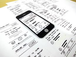 sketch ui on paper 2nd step towards android or ios mobile app