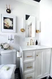 Bathroom Black And White Bathroom by Bathroom Accents Ideasbest Bathroom Accent Wall Ideas On Small
