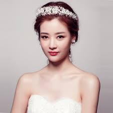 hair pieces for wedding bouquet bridal hairband headband flower garland hair claws wedding