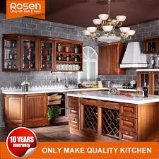 solid wood kitchen cabinets wholesale china wholesale classic style mahogany solid wood kitchen