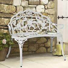 Cast Iron Garden Furniture EBay - Outdoor iron furniture
