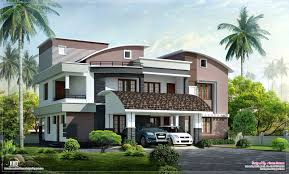 modern style luxury villa exterior design house plans home