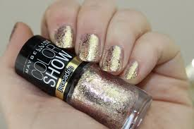 maybelline color brocades knitted gold review lovely girlie