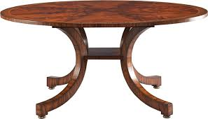 Lillian August Dining Tables Lillian August Furniture La82011 01 Dining Room Portman Bow Leg