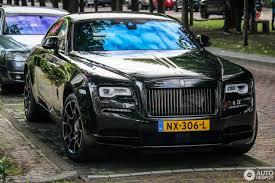 roll royce wraith matte rolls royce wraith black badge 9 june 2017 autogespot