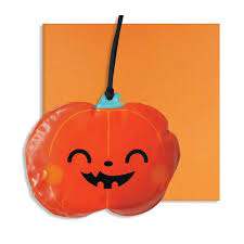 halloween inflatable pumpkin decoration card by pango productions