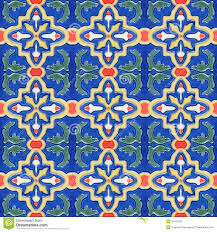 spanich moroccan style vintage ceramic tile stock photos image