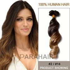 100 human hair extensions shop 16 two colors 2 and 14 wavy ombre hair extensions 100