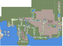 Map Of Pokemon World by Generation Iv Map Of Johto By Cadellin On Deviantart