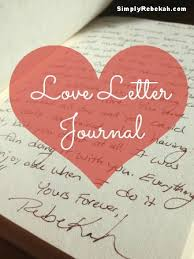 love letter journal a cheap but meaningful gift for a wedding