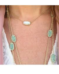 opal necklace silver images Kendra scott silver elisa white kyocera opal necklace tradesy jpg