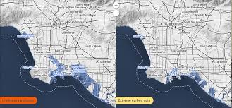 louisiana map global warming map shows parts of la that could be underwater if nothing s done