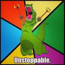 Meme T Rex - i am unstoppable trex tyrannosaurus tyrannosaurusr flickr
