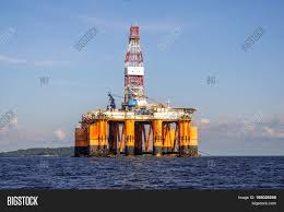 labuan malaysia may 1 2017 offshore oil rig drilling platform in