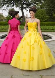 yellow wedding dress quinceanera dressesprom gown dresses discount 2012 charming