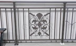 ornamental wrought iron veranda iron balcony fence decorative