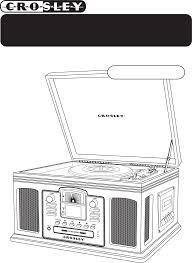 Crosley Radio Parts Crosley Radio Stereo System Cr2405a User Guide Manualsonline Com