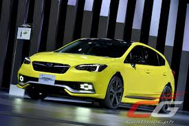 subaru yellow subaru shows how a lifestyle oriented 2018 subaru xv and impreza