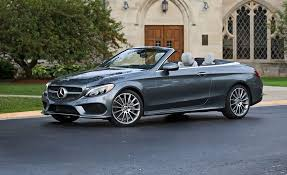 mercedes test 2018 mercedes c300 cabriolet test review car and driver