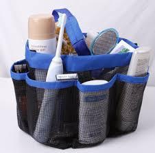 popular travel shower caddy buy cheap travel shower caddy lots 8 pocket mesh bath shower caddy cloth storage box travel tote handle bathroom bag for