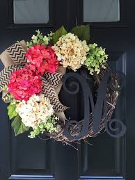 spring wreaths for front door best 25 monogram wreath ideas on pinterest initial wreath