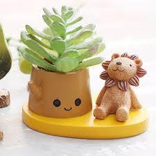 animal planters online shop mini succulent plants pot animals resin flowerpots