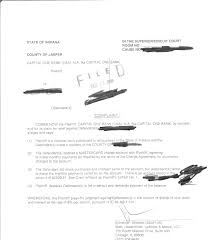 capital one lawsuit complaint how to win a credit card lawsuit