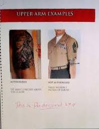 marine corps tattoo policy leaked before official release