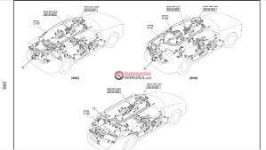 mazda 6 gg 2002 2007 wiring diagrams auto repair manual