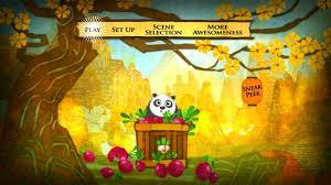 kung fu panda 2 2011 dvd movie menus