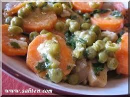 cuisine libanaise facile petits pois ã la normande cuisine libanaise par sahten