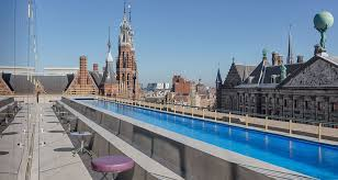 dive in to amsterdam u0027s first rooftop pool insider city guides