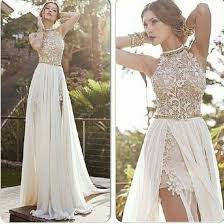 white lace prom dress buy white prom dress 2014 high low lace special