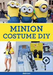 Despicable Minion Costume 25 Minion Costumes Ideas Diy Minion Costume