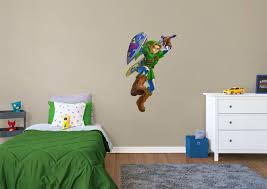 legend of zelda wall mural wall murals you ll love link the legend of zelda wall decal fathead for