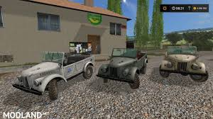 gaz 69 off road gaz 69 v 1 0 mod farming simulator 17