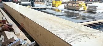 Wooden Material Element Hurlingham Racquet Centre U0027s Light Green Roof Features Kerto Lvl