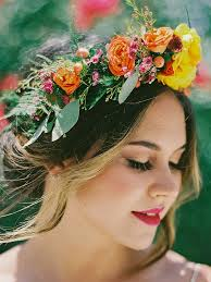 22 bridal flower crowns for your wedding