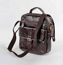 Rugged Leather Backpack Genuine Leather Bag In Chocolate Messenger Laptop Rugged