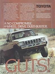 vintage toyota 4x4 toyota trucks advertisement gallery